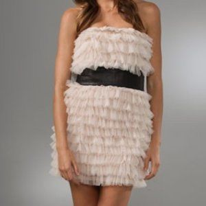 Haute Hippie Tiered Ruffle Dress